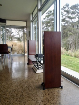 Monitor Audio Silver 300 floorstanding speakers in walnut at Totally Wired