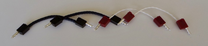 KLEI QFlow7 bi-wire jumper cables at Totally Wired