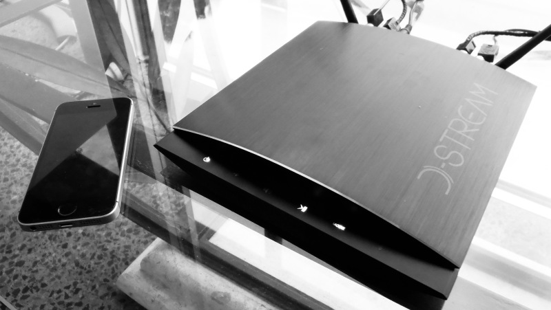 The D-Stream WAMP-200SB digital amplifier