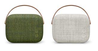 Vifa 'Helsinki' in Willow Green and Sandstone Grey at Totally Wired